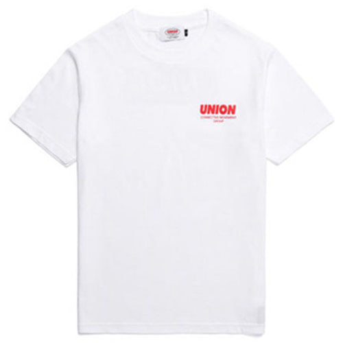 [UNION OBJET] SIGNATURE T-SHIRT WHITE