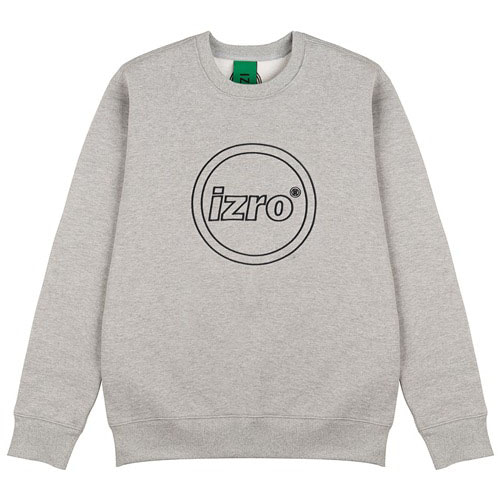 [IZRO] CIRCLE SWEAT SHIRT GRAY