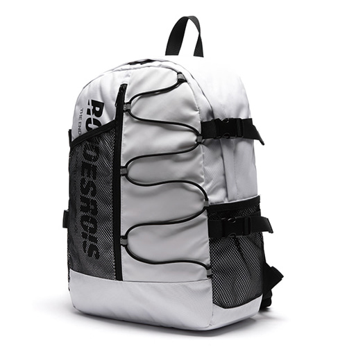 [ROIDESROIS] TWO FACE BACKPACK WHITE