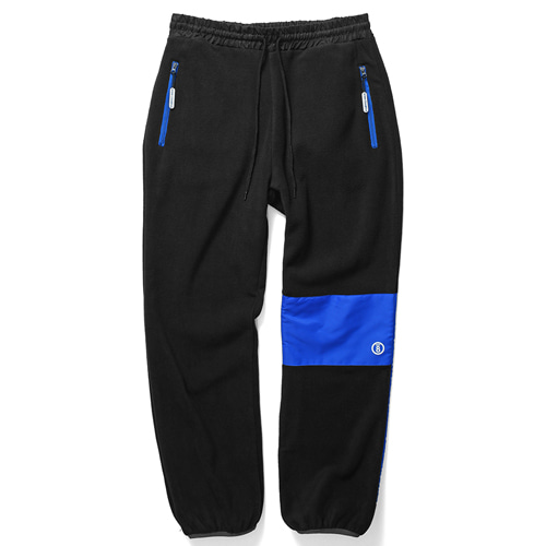 [BORNCHAMPS] CHMPS POLAR FLEECE PANT BLACK CERDMPT01BK