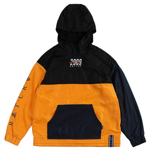 [ROMANTICCROWN] 2009 SIDE ZIP UP ANORAK YELLOW