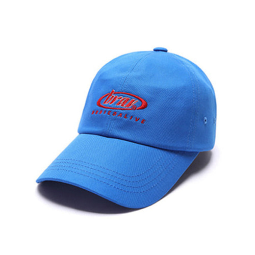 [BURIEDALIVE]BA CIRCLE LOGO CAP BLUE