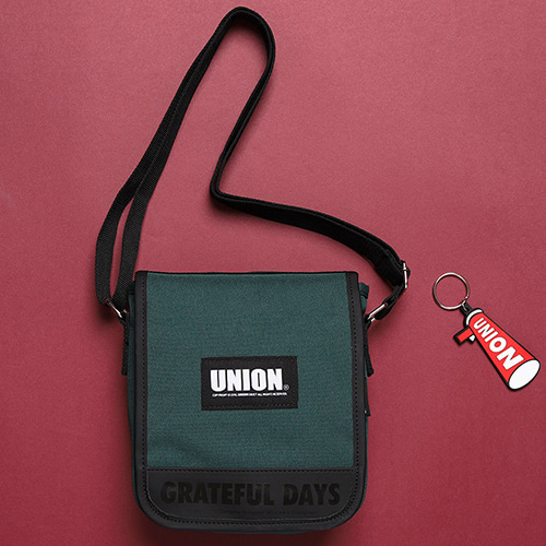 [UNIONOBJET] UNION COVER CROSS BAG GREEN