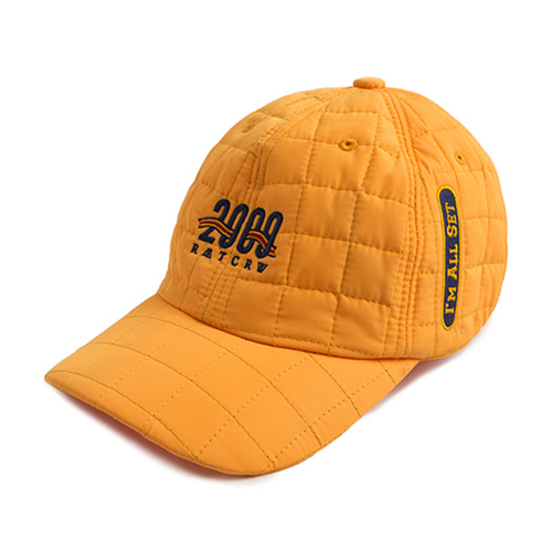 [ROMATIC CROWN] 2009 QUILTING BALL CAP MUSTARD