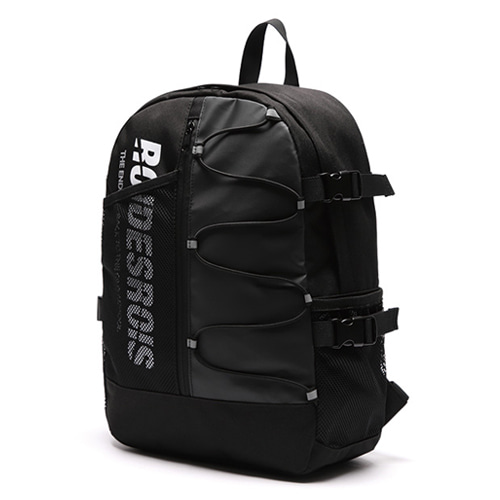 [ROIDESROIS] TWO FACE BACKPACK BLACK