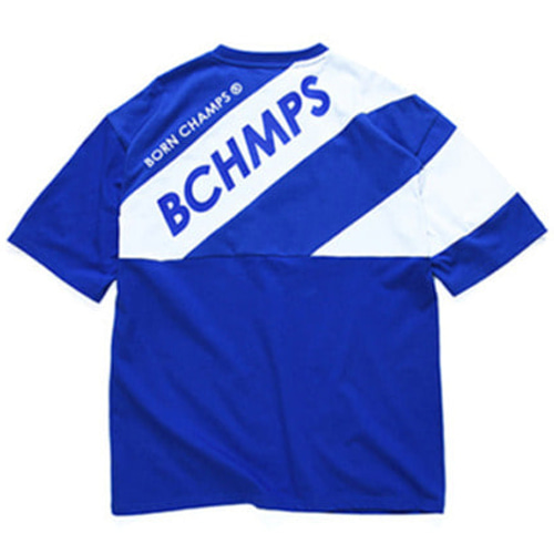 [BORN CHAMPS]8 LOGO TEE CERBMTS03BL