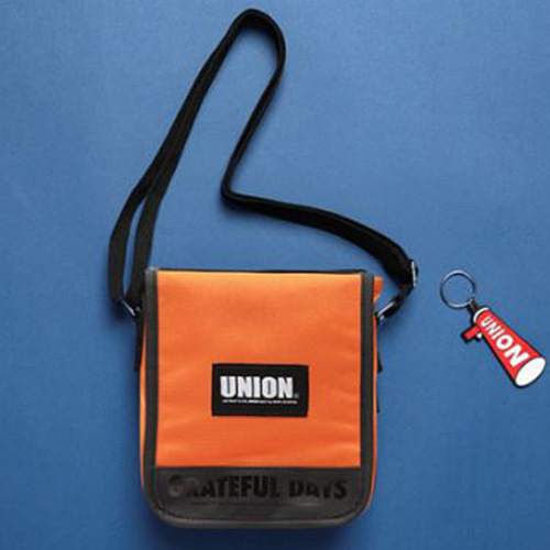 [UNIONOBJET] UNION COVER CROSS BAG ORANGE
