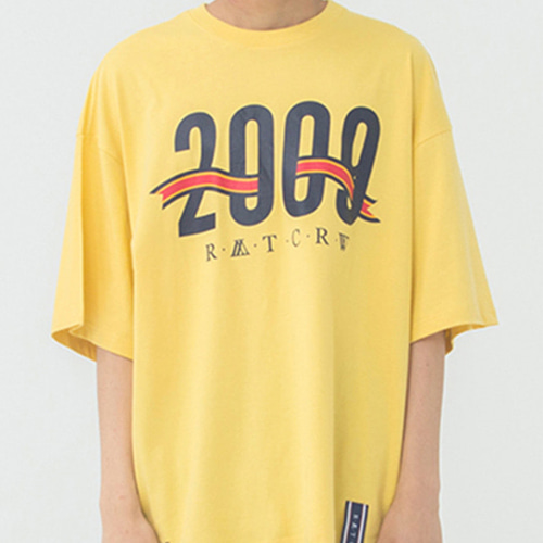 [ROMANTICCROWN] 2009 FLAG T-SHIRT BUTTER