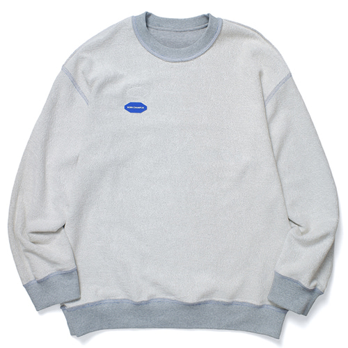 [BORNCHAMPS] BC REVERSIBLE SWEAT GREY CERDMMT01GY