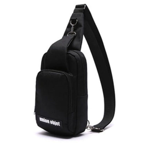 [UNIONOBJET]UNION SLING BAG BLACK_STRAYKIDS着用