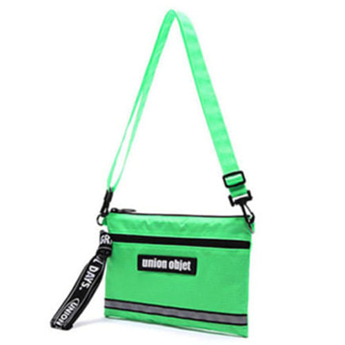 [UNIONOBJET]UNION TECH CROSS BAG LIME