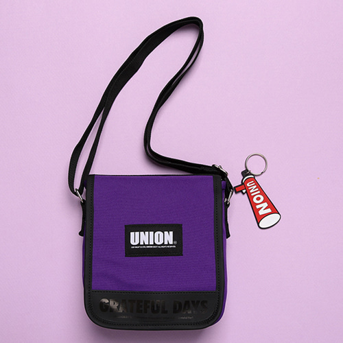 [UNIONOBJET] UNION COVER CROSS BAG PURPLE