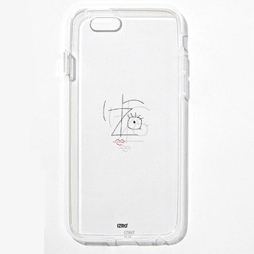 [IZRO] IZRO TRANSPARENT PHONECASE - WHITE