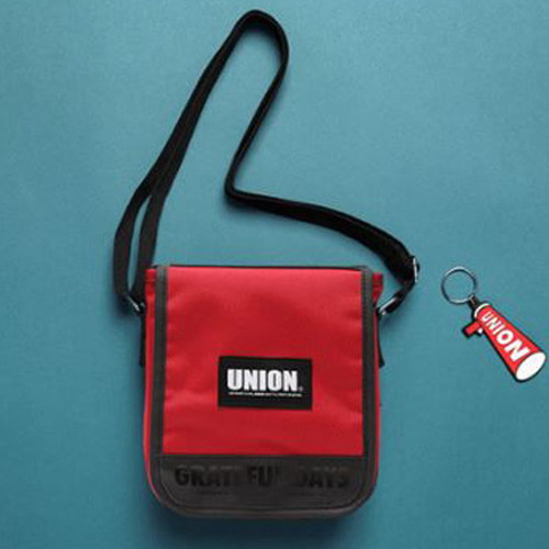 [UNIONOBJET] UNION COVER CROSS BAG RED