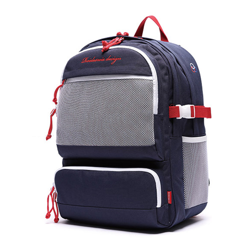 [ROIDESROIS] OMG BACKPACK NAVY RED