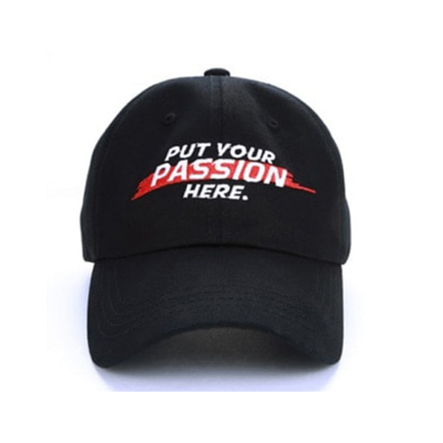 [JUSTO] PASSION CAP BLACK