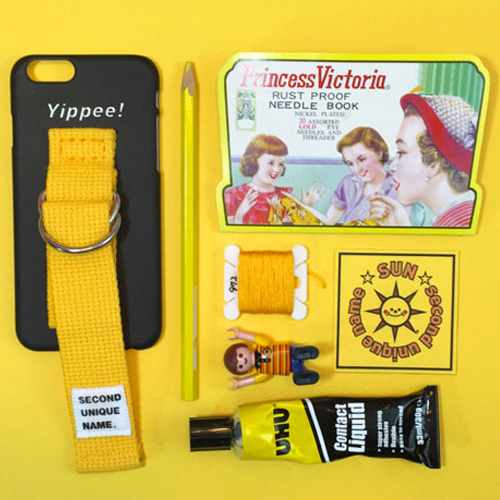 SUN CASE BLACK YELLOW(WORD)
