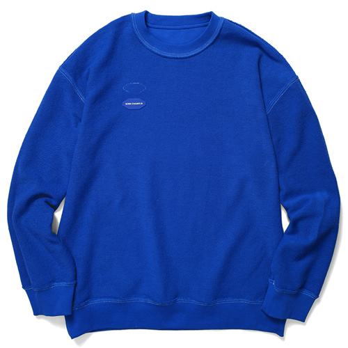 [BORNCHAMPS] BC REVERSIBLE SWEAT BLUE CERDMMT01BL