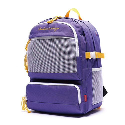 [ROIDESROIS] OMG BACKPACK PURPLE YELLOW