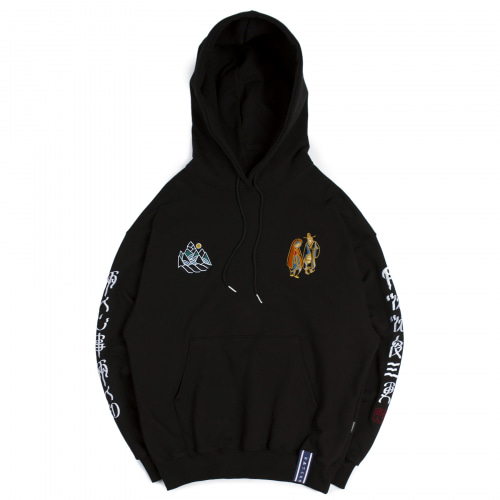 [ROMANTIC CROWN] 10TH 月下情人 HOODIE BLACK