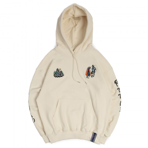 [ROMANTIC CROWN] 10TH 月下情人 HOODIE OATMEAL