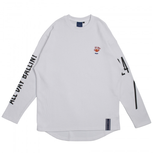 [ROMANTICCROWN] 10TH ALL DAY LONG SLEEVE WHITE