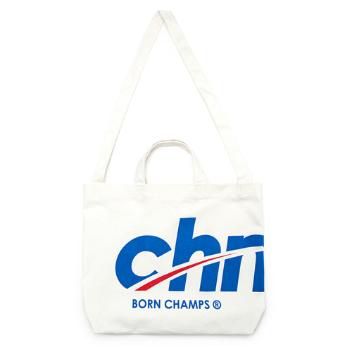 [BORNCHAMPS] CHMPS ECO BAG CESFMBG03WH