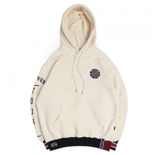 [ROMANTIC CROWN] 10TH FOREVER YOUNG HOODIE OATMEAL