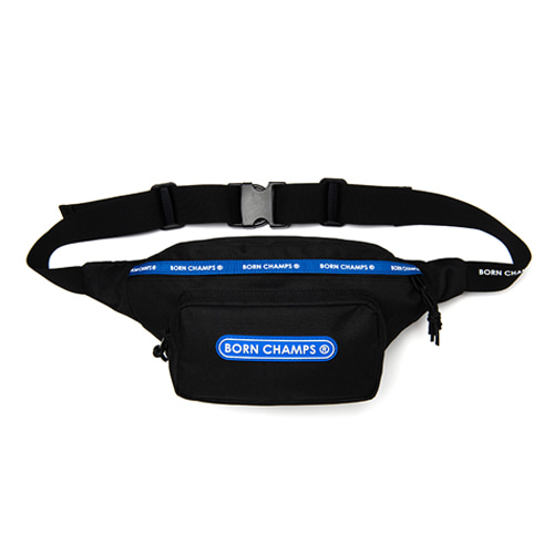 [BORNCHAMPS] TWO LINE WAIST BAG CESFMBG04BK