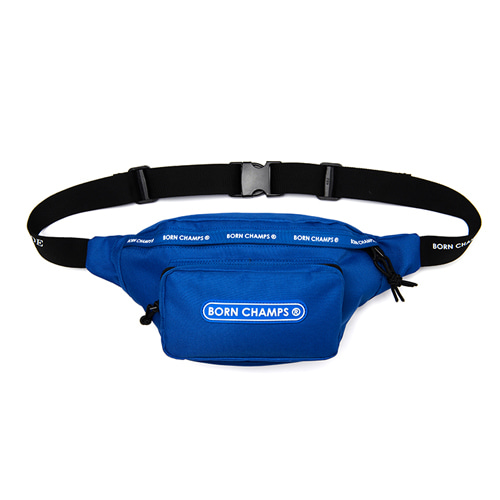 [BORNCHAMPS] TWO LINE WAIST BAG CESFMBG04BL