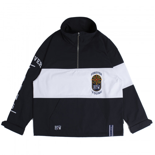[ROMANTICCROWN] 10TH FOREVER YOUNG ANORAK NAVY