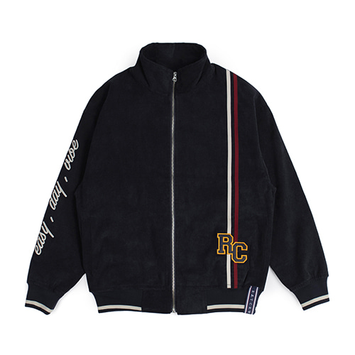 [ROMANTIC CROWN] RC CORDUROY JACKET NAVY