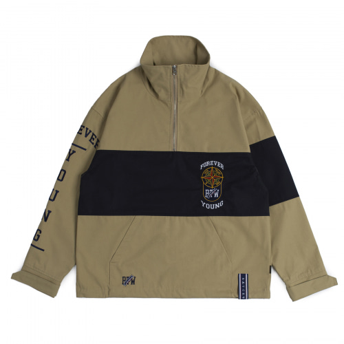 [ROMANTICCROWN] 10TH FOREVER YOUNG ANORAK BEIGE