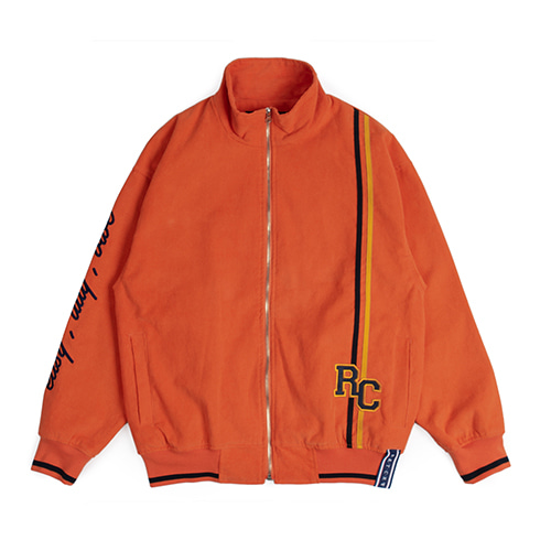 [ROMANTIC CROWN] RC CORDUROY JACKET ORANGE