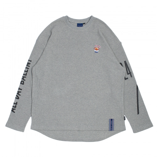 [ROMANTICCROWN] 10TH ALL DAY LONG SLEEVE GREY
