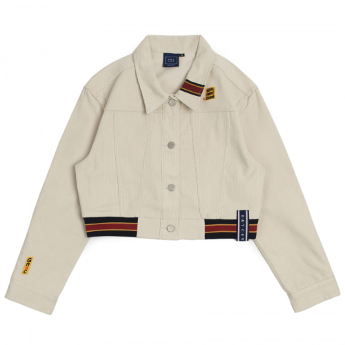 [ROMANTICCROWN WOMAN] GNAC CORDUROY JACKET OATMEAL