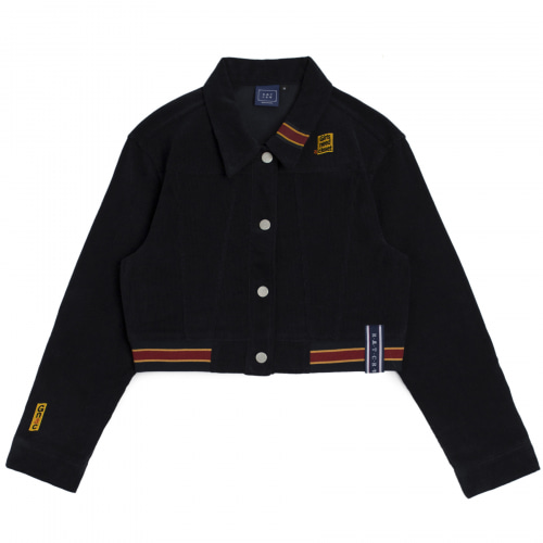 [ROMANTICCROWN WOMAN] GNAC CORDUROY JACKET NAVY