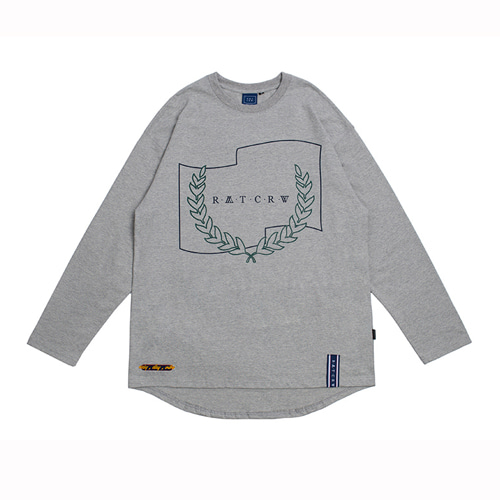 [ROMANTIC CROWN] RMTCRW LONG SLEEVE GREY