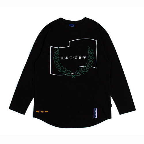 [ROMANTIC CROWN] RMTCRW LONG SLEEVE BLACK