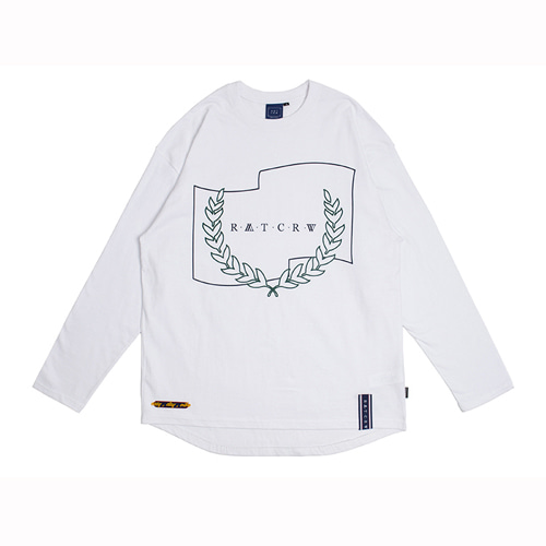 [ROMANTIC CROWN] RMTCRW LONG SLEEVE WHITE