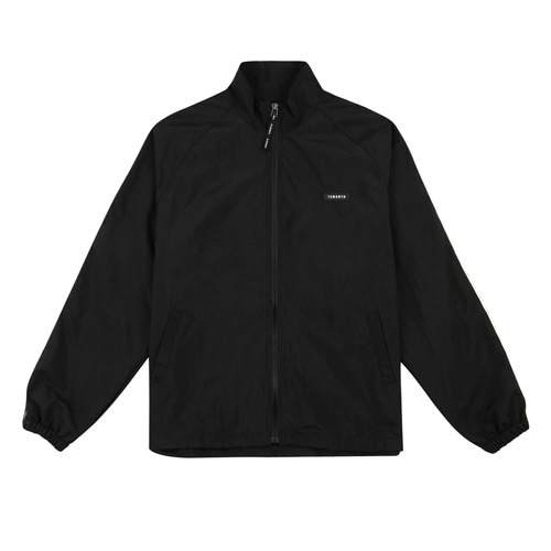 [13MONTH] LOGO TAPING TRACK JACKET BLACK