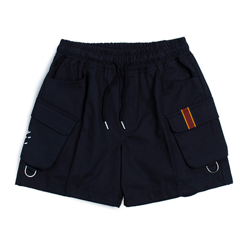 [ROMANTIC CROWN] E.D.V CARGO SHORT PANTS NAVY
