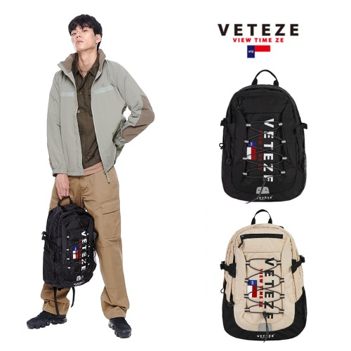 [VETEZE]Big Logo Backpack 2カラー