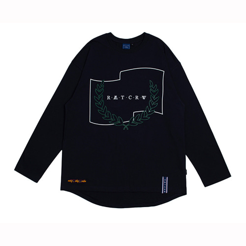 [ROMANTIC CROWN] RMTCRW LONG SLEEVE NAVY
