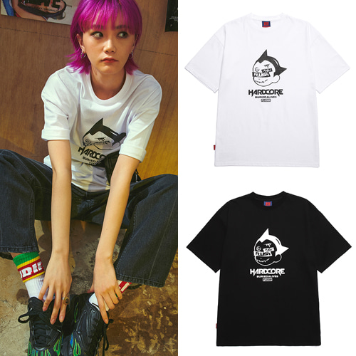 [3/29予約配送][BURIEDALIVE] BA X FLUSH BATOM T-SHIRTS 2COLOR