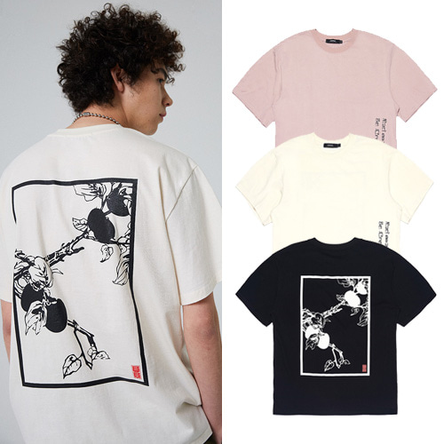 [MADMARS] PERSIMMON TREE T-SHIRT 3COLOR