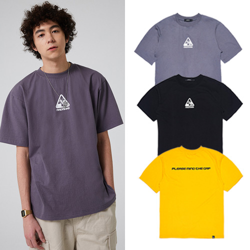 [MADMARS] MIND THE GAP T-SHIRT 3COLOR