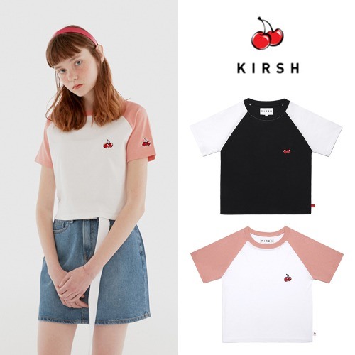 [KIRSH] LAGLAN T-SHIRT IH 2COLOR
