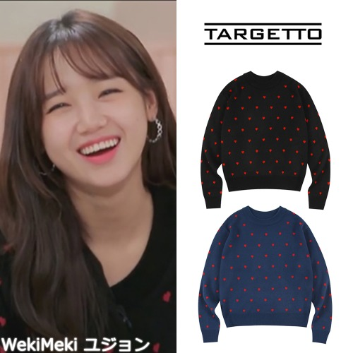 [TARGETTO] LOVERS KNIT 2COLOR_WEKIMEKI APRIL