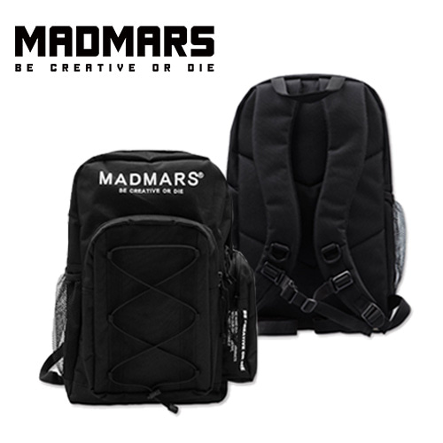 [MADMARS] LOGO BACKPACK BLACK